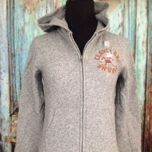 NFL Cleveland Browns Gray Hoodie Youth Sz M